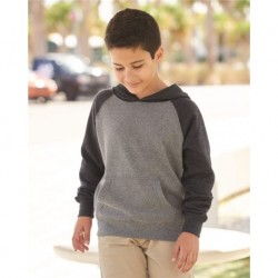 Independent Trading Co. PRM15YSB Youth Special Blend Raglan Hooded Sweatshirt