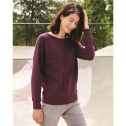 Independent Trading Co. SS240 Juniors Heavenly Fleece Lightweight Sweatshirt