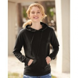 Independent Trading Co. SS650 Juniors Heavenly Fleece Lightweight Hooded Sweatshirt