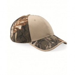 Kati LC102 Camo Cap with Solid Front