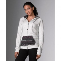MV Sport W18139 Womens Angel Fleece Nadia Full Zip