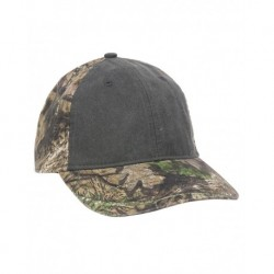 Outdoor Cap PDC100 Camo Cap with Pigment-Dyed Twill Front