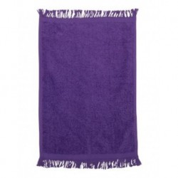 Q-Tees T100 Fringed Fingertip Towel