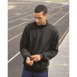 Russell Athletic 1Z4HBM Dri Power Quarter-Zip Cadet Collar Sweatshirt