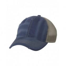 Sportsman 3150 Bounty Dirty-Washed Mesh-Back Cap