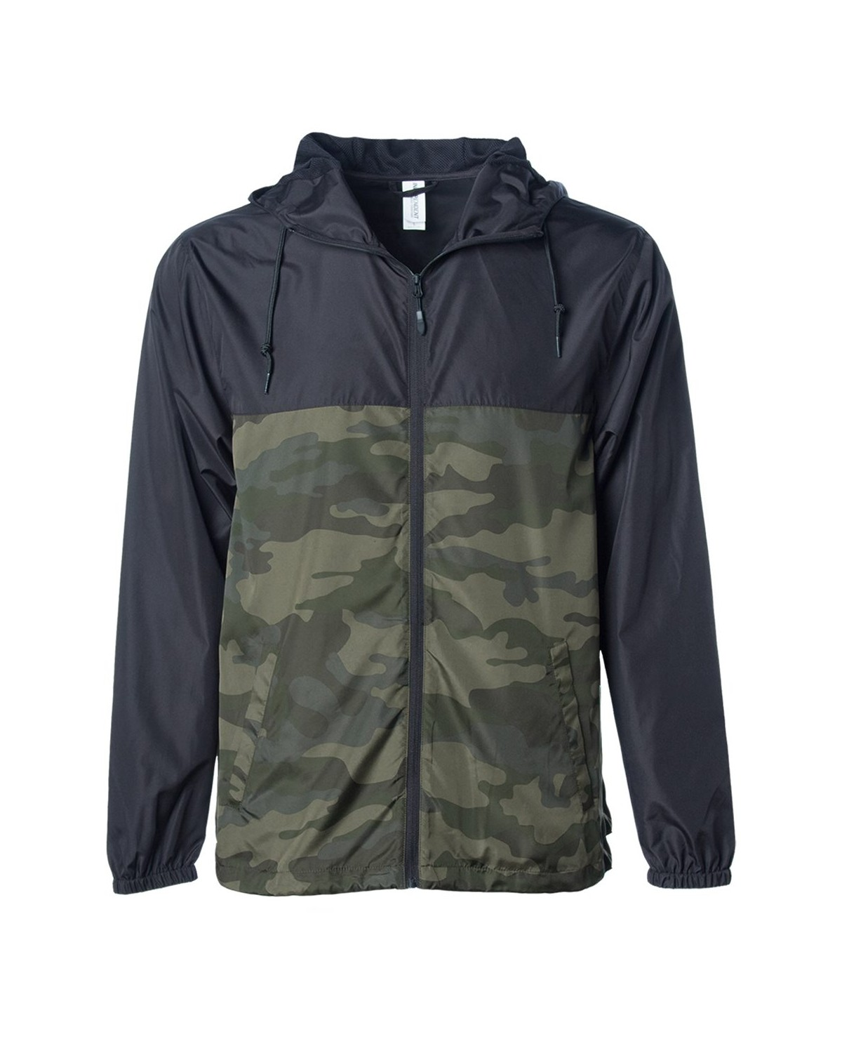 EXP54LWZ Independent Trading Company Black/ Forest Camo