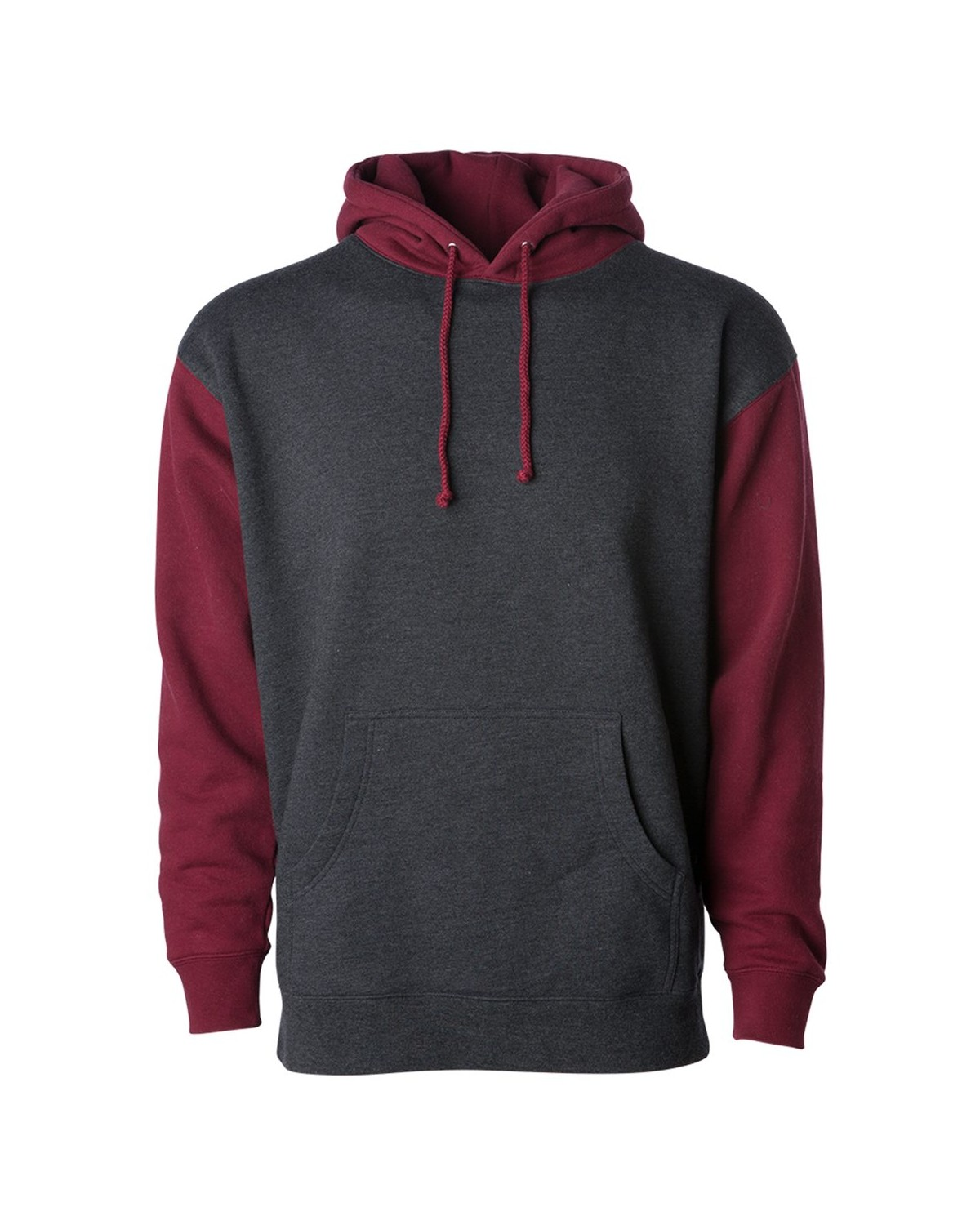 IND4000 Independent Trading Company Charcoal Heather/ Currant