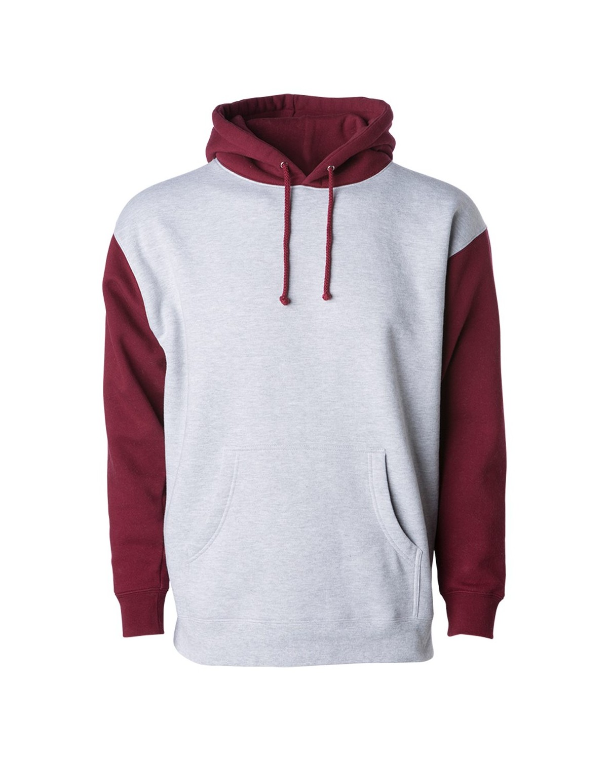 IND4000 Independent Trading Company Grey Heather/ Currant
