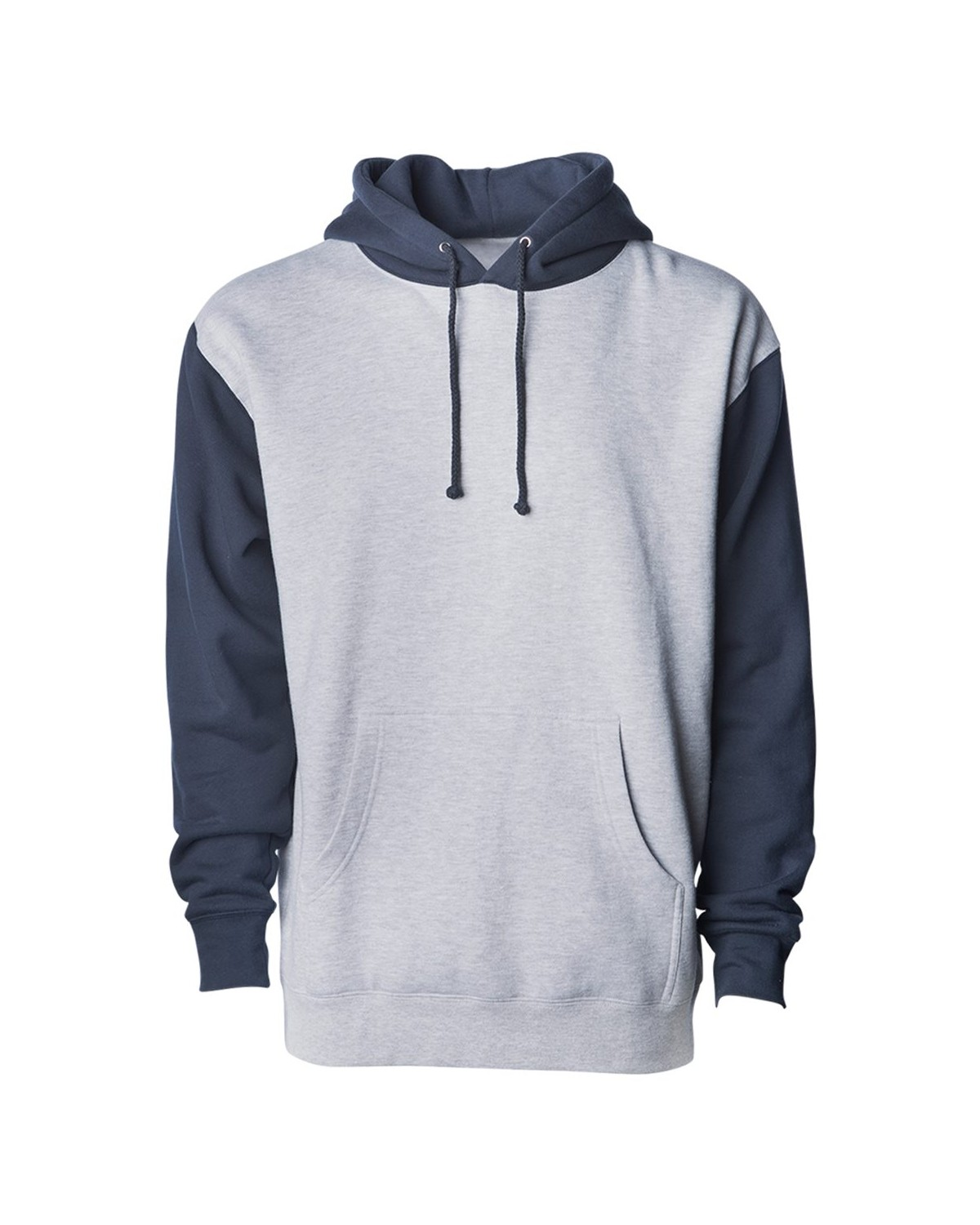 IND4000 Independent Trading Company Grey Heather/ Slate Blue