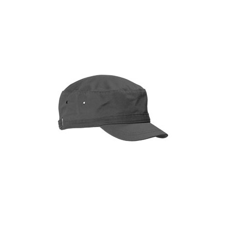 BA501 Big Accessories BA501 Short Bill Cadet Cap CHARCOAL