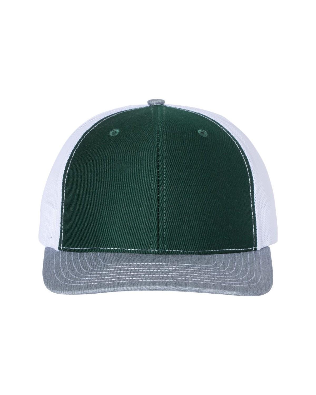 112 Richardson Dark Green/ White/ Heather Grey