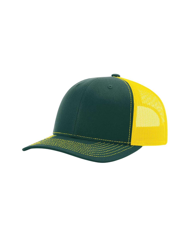 112 Richardson Dark Green/ Yellow