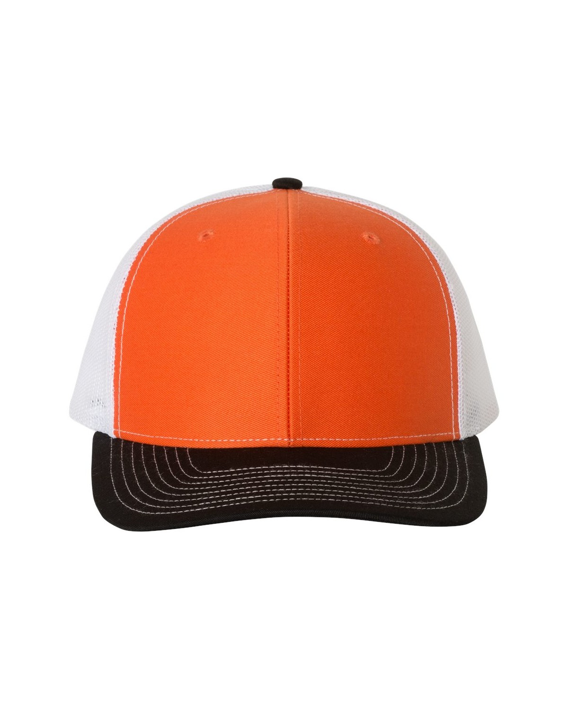 112 Richardson Orange/ White/ Black