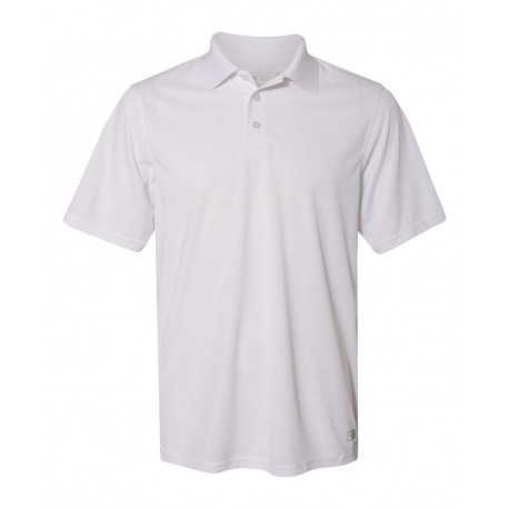 7EPTUM Russell Athletic 7EPTUM Essential Short Sleeve Polo WHITE