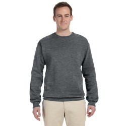 Fruit of the Loom 82300 Adult 12 oz. Supercotton Fleece Crew