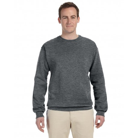 82300 Fruit of the Loom 82300 Adult 12 oz. Supercotton Fleece Crew ATHLETIC HEATHER