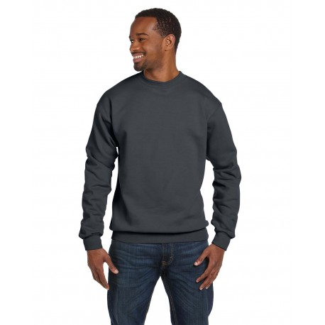 G920 Gildan G920 Adult Premium Cotton Adult 9 oz. Ringspun Crew CHARCOAL