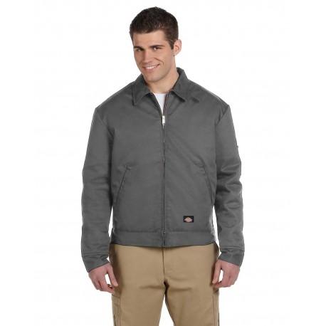 JT15 Dickies JT15 Men's 8 oz. Lined Eisenhower Jacket CHARCOAL