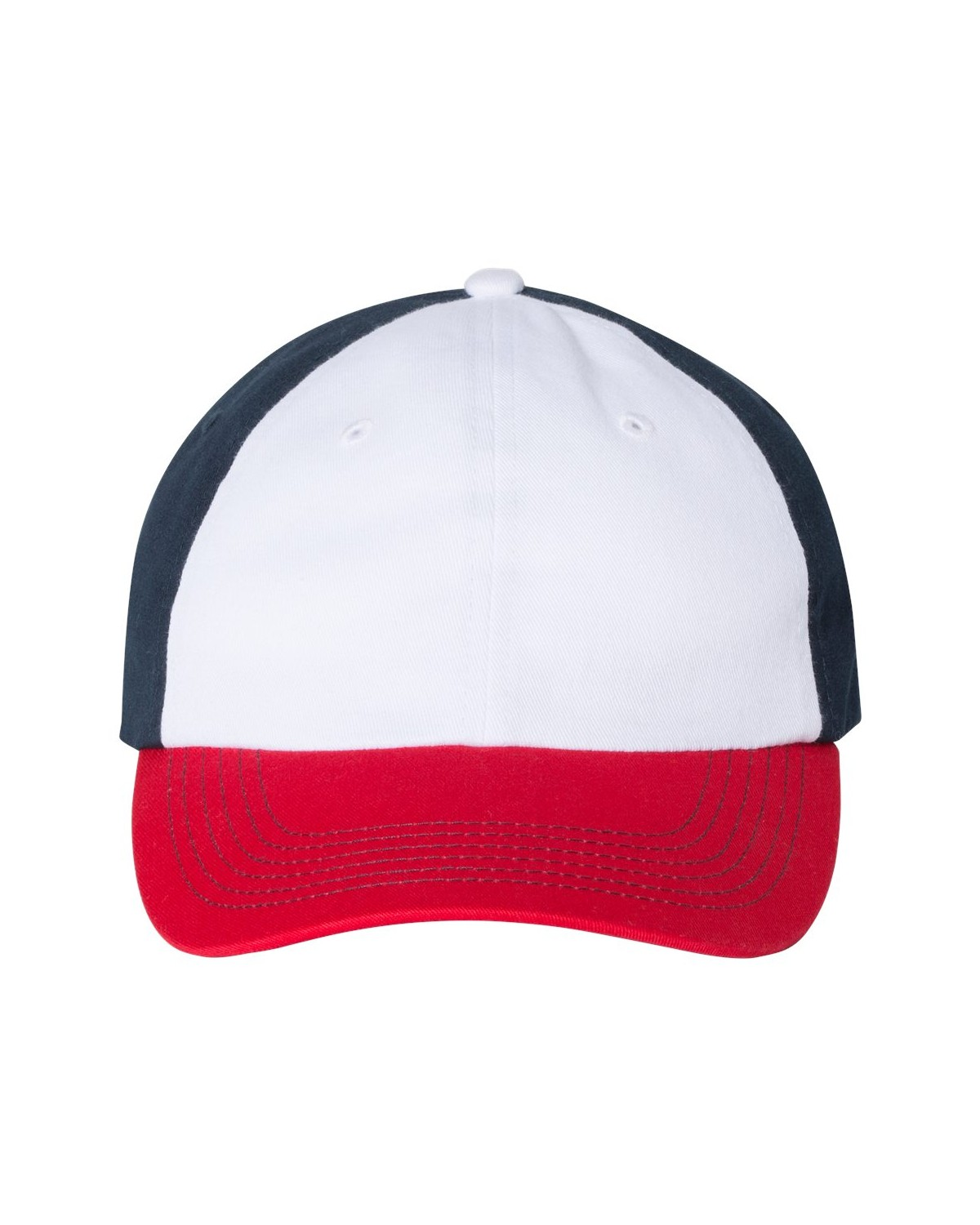 VC300A Valucap White/ Red/ Navy