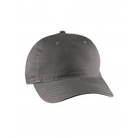 EC7087 Econscious EC7087 Twill 5-Panel Unstructured Hat CHARCOAL