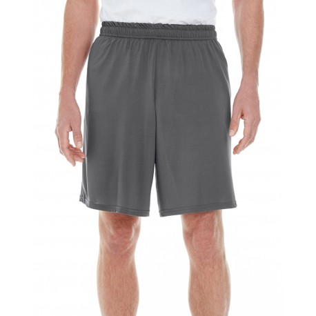 G46S Gildan G46S Adult Performance Adult Core Shorts CHARCOAL