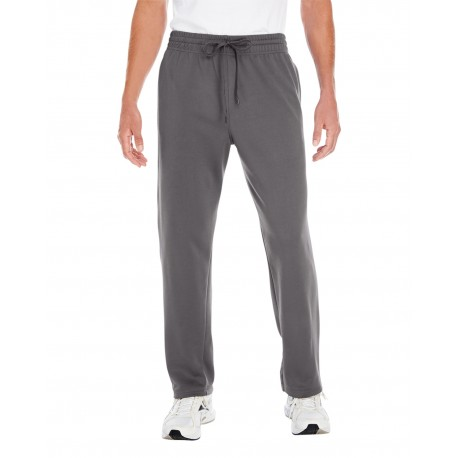 G994 Gildan G994 Adult Performance 7 oz. Tech Open-Bottom Sweatpants with Pockets CHARCOAL