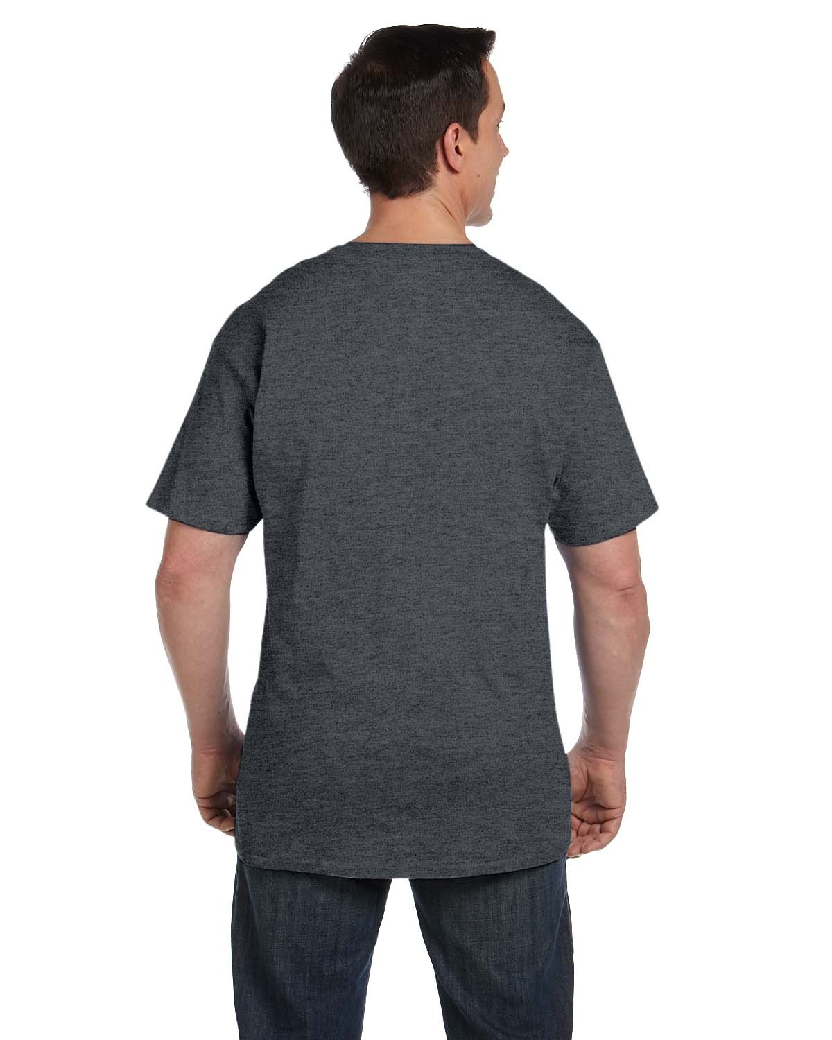 5190P Hanes CHARCOAL HEATHER