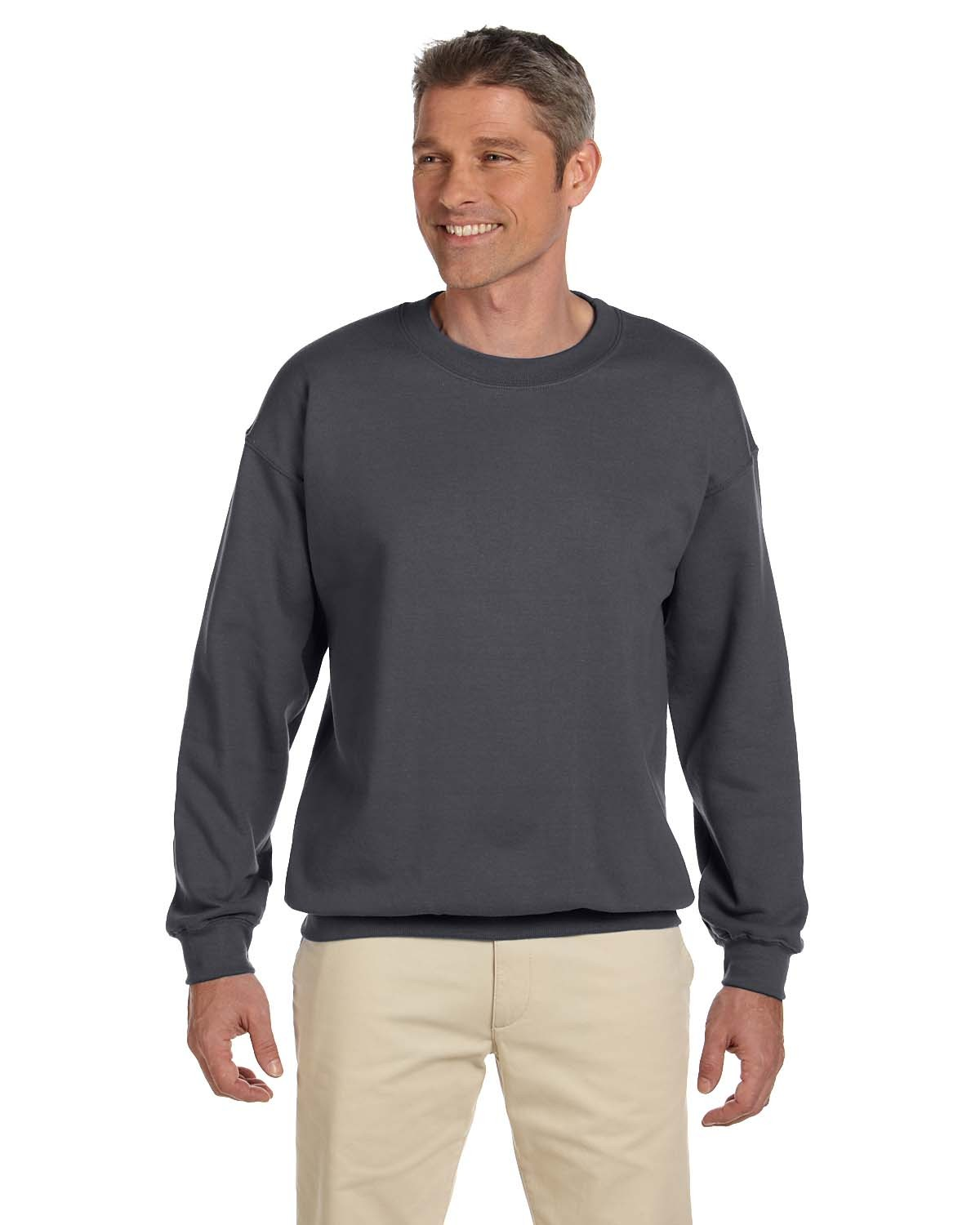 F260 Hanes CHARCOAL HEATHER