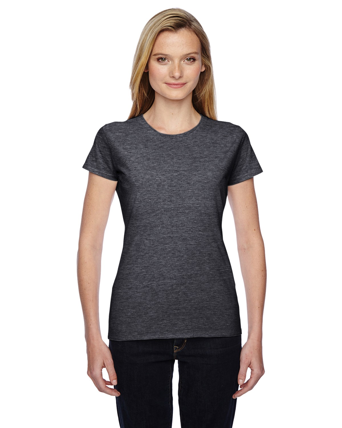 SSFJR Fruit of the Loom CHARCOAL HEATHER