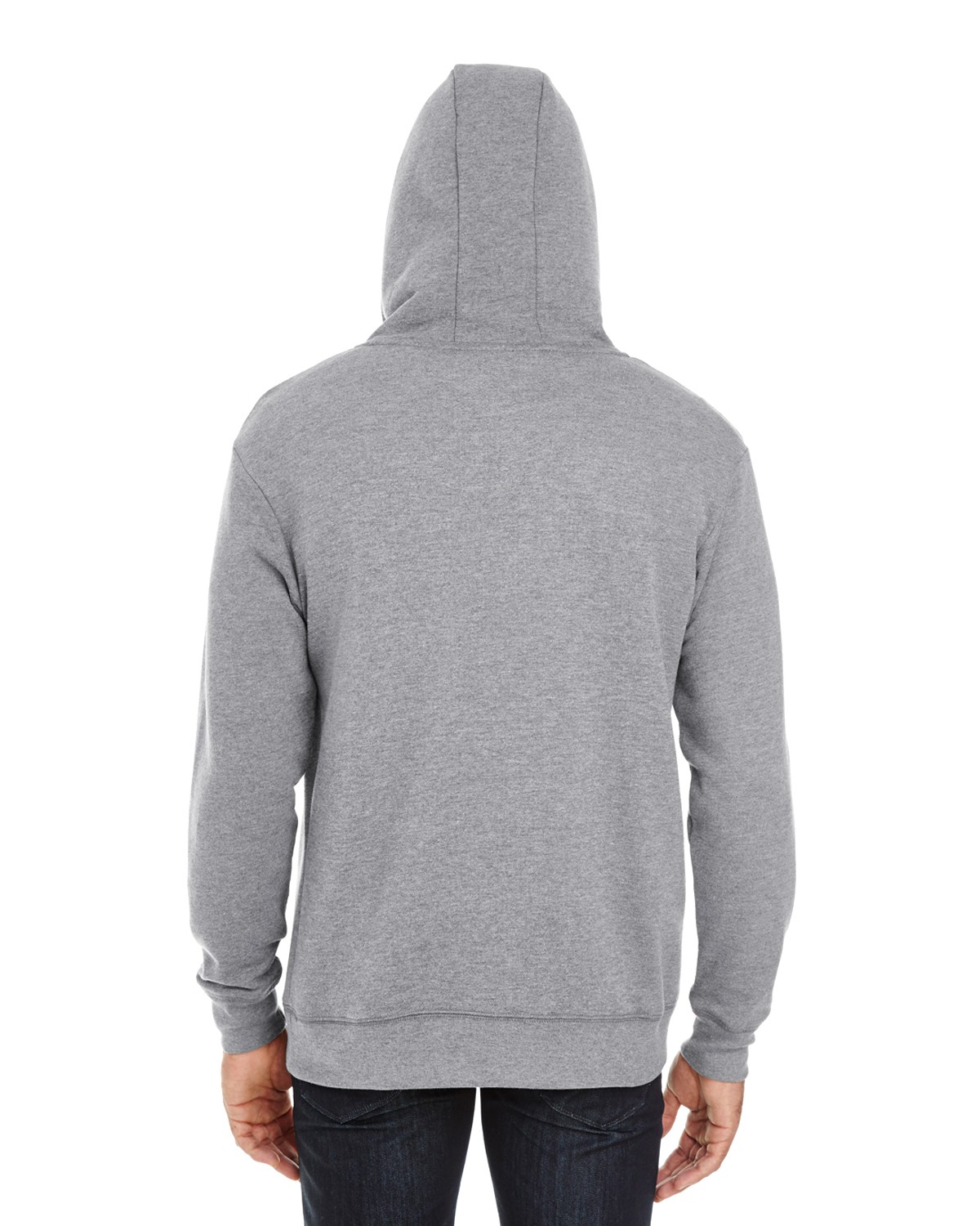 321H Threadfast Apparel CHARCOAL HEATHER