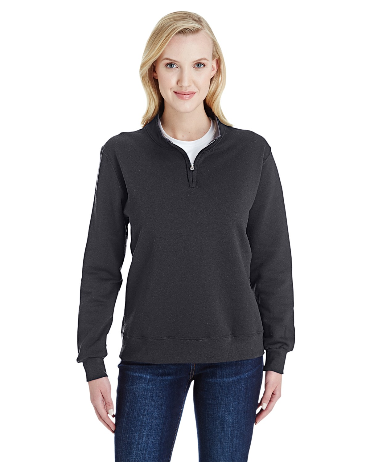 LSF95R Fruit of the Loom CHARCOAL HEATHER