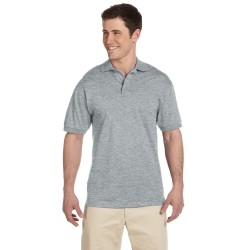 Jerzees J100 Adult 6.1 oz. Heavyweight Cotton Jersey Polo