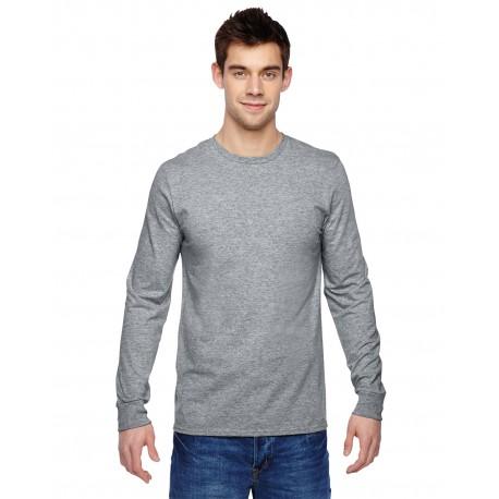 SFLR Fruit of the Loom SFLR Adult 4.7 oz. Sofspun Jersey Long-Sleeve T-Shirt ATHLETIC HEATHER