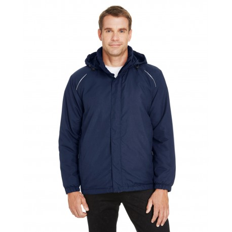 88189 Core 365 88189 Men's Brisk Insulated Jacket CLASSIC NAVY 849