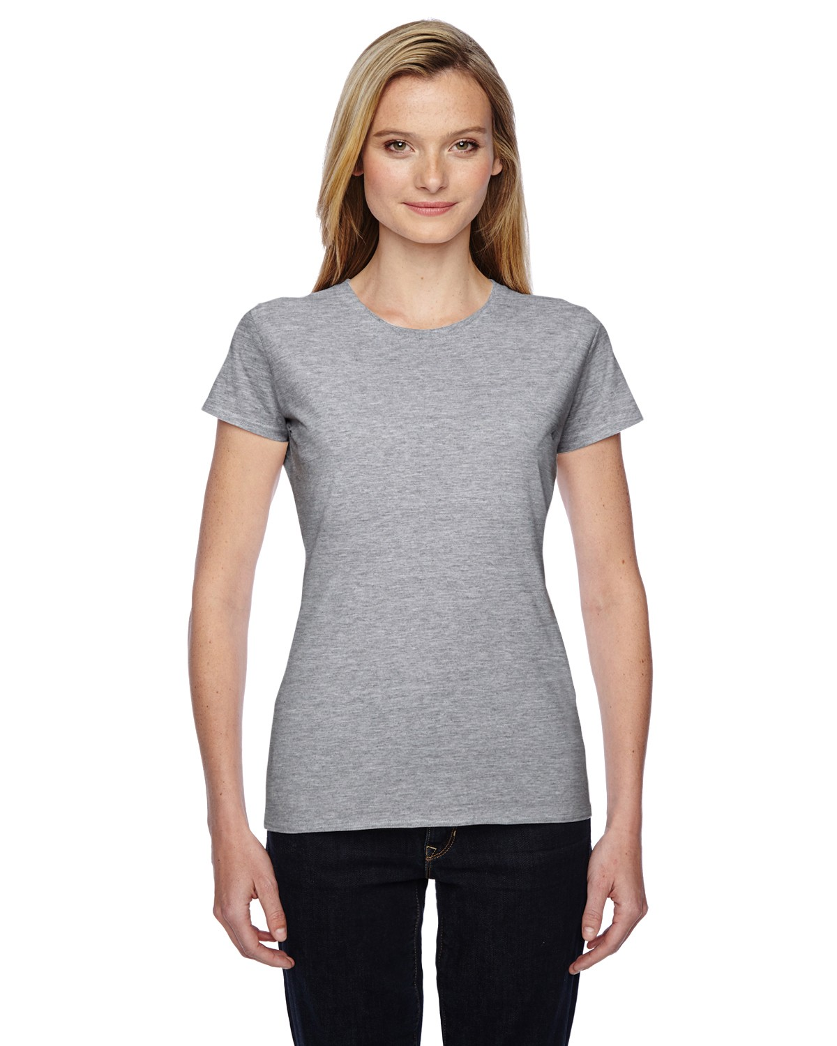 SSFJR Fruit of the Loom ATHLETIC HEATHER