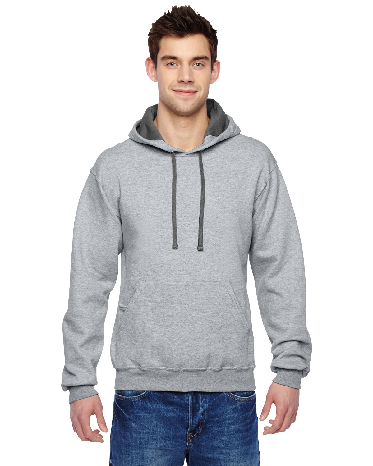 SF76R Fruit of the Loom ATHLETIC HEATHER