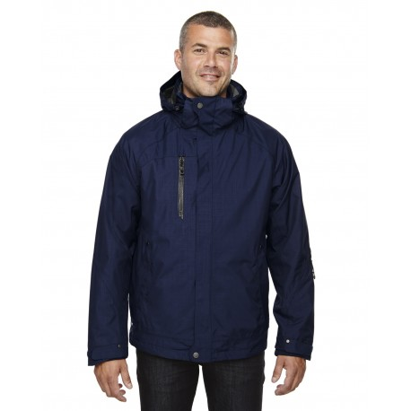 88178 North End 88178 Men's Caprice 3-in-1 Jacket with Soft Shell Liner CLASSIC NAVY 849