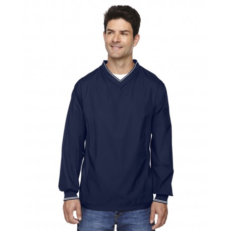 88132 North End 88132 Adult V-Neck Unlined Wind Shirt CLASSIC NAVY 849