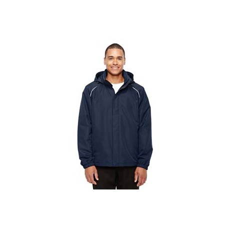88224T Core 365 88224T Men's Tall Profile Fleece-Lined All-Season Jacket CLASSIC NAVY 849