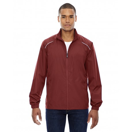 88183T Core 365 88183T Men's Tall Motivate Unlined Lightweight Jacket CLASSIC RED 850