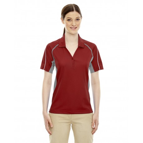 75110 Extreme 75110 Ladies' Eperformance Parallel Snag Protection Polo with Piping CLASSIC RED 850