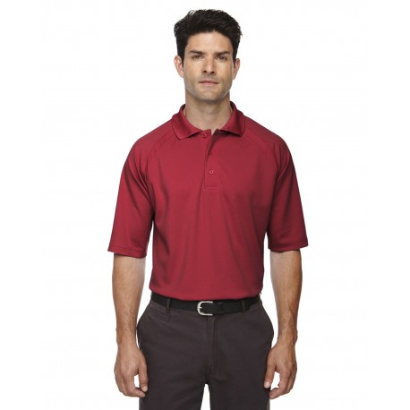 85093 Extreme 85093 Men's Eperformance Ottoman Textured Polo CLASSIC RED 850