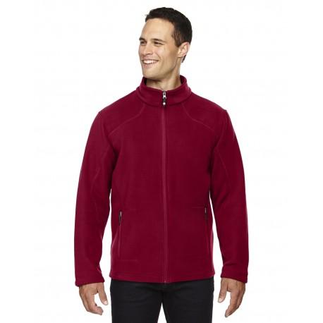 88172 North End 88172 Men's Voyage Fleece Jacket CLASSIC RED 850
