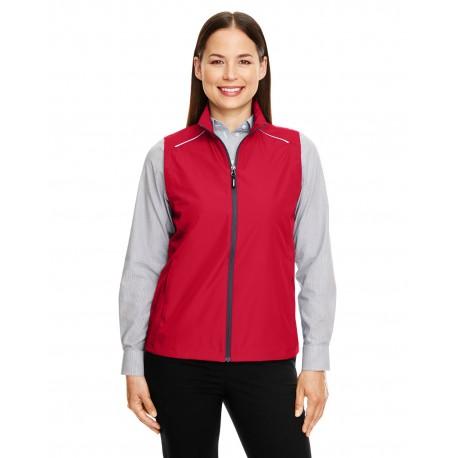 CE703W Core 365 CE703W Ladies' Techno Lite Unlined Vest CLASSIC RED 850