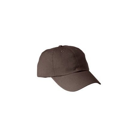 BX005 Big Accessories BX005 6-Panel Washed Twill Low-Profile Cap COFFEE