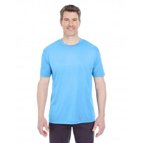 8420 UltraClub 8420 Men's Cool & Dry Sport Performance Interlock T-Shirt COLUMBIA BLUE