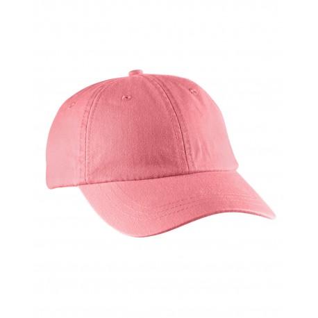LO101 Adams LO101 Ladies' Optimum Pigment-Dyed Cap CORAL