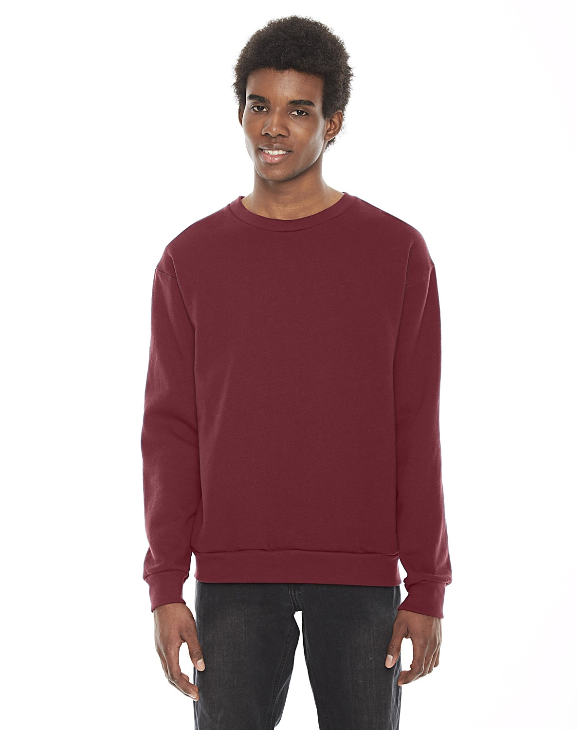 F496W American Apparel CRANBERRY