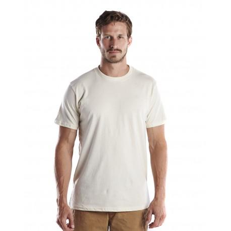 US2000G US Blanks US2000G Men's 4.5 oz. Short-Sleeve Garment-Dyed Crewneck CREAM