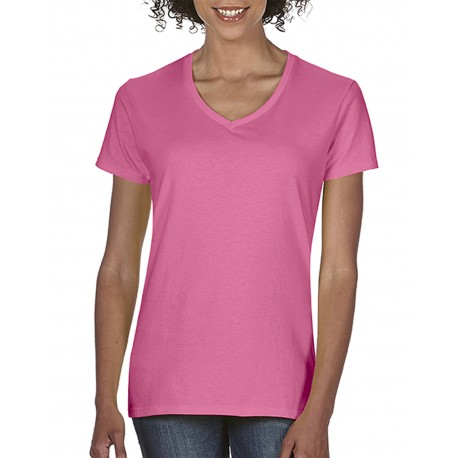 C3199 Comfort Colors C3199 Ladies' Midweight RS V-Neck T-Shirt CRUNCHBERRY